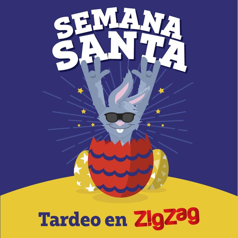 Esta Semana Santa, vente de tardeo a ZigZag
