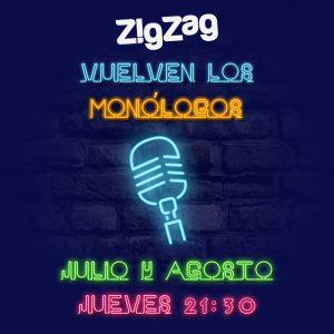 Vuelven los monólogos a ZigZag